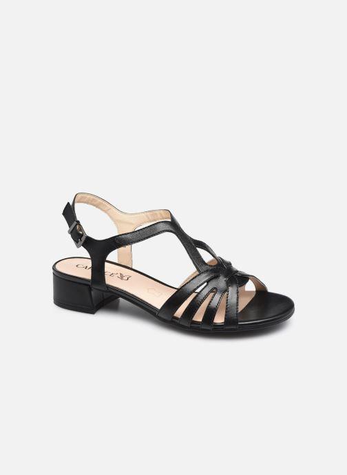 Sandales et nu-pieds Caprice Mezin Noir vue détail/paire