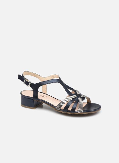 Sandales et nu-pieds Caprice Mezin Bleu vue détail/paire