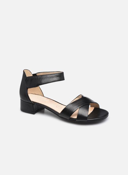 Sandales et nu-pieds Caprice Prameda Noir vue détail/paire