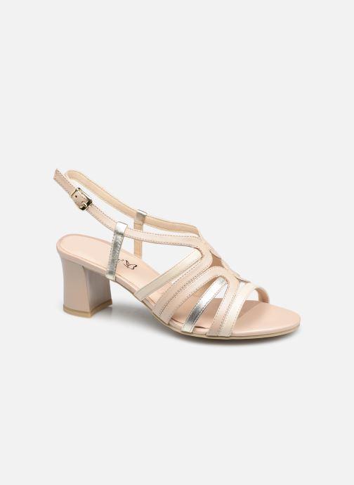 Sandales et nu-pieds Caprice Perina Beige vue détail/paire