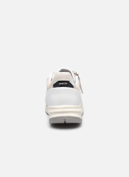 Sneaker Geox D AIRELL A D152SA weiß ansicht von rechts