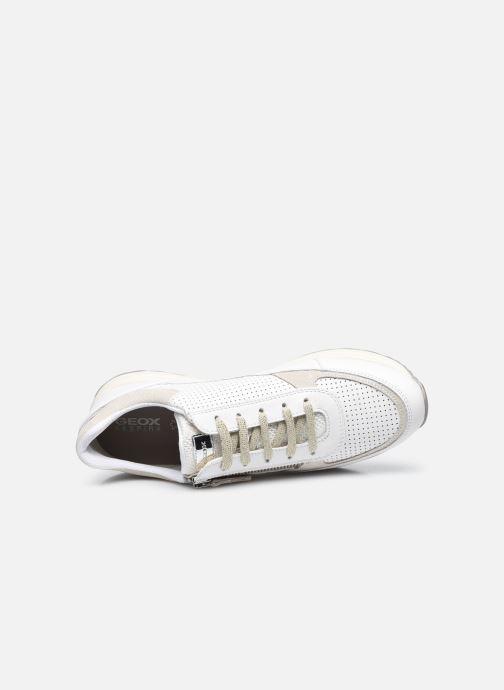 Sneaker Geox D AIRELL A D152SA weiß ansicht von links