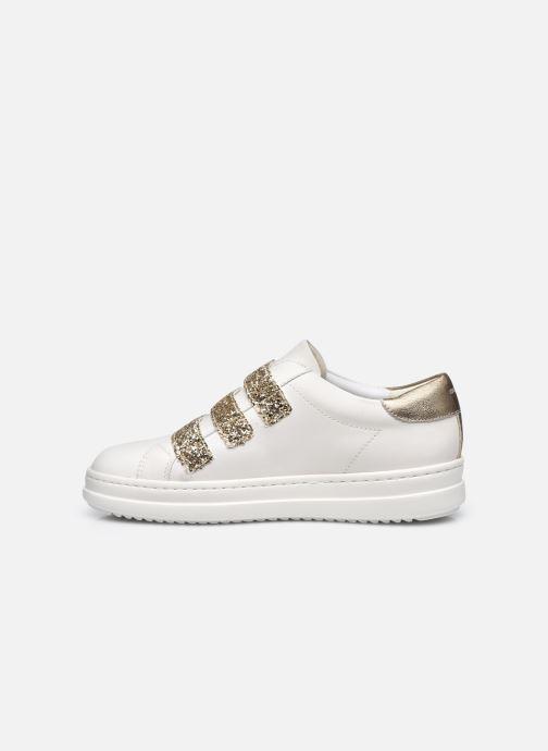 Sneakers Geox D PONTOISE C Bianco immagine frontale