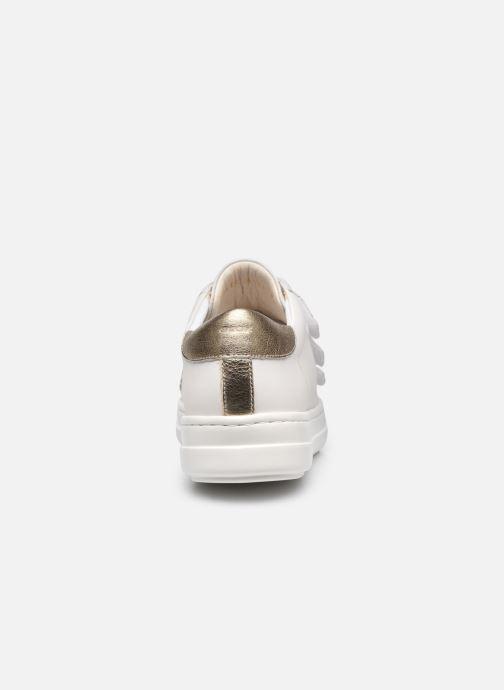 Sneakers Geox D PONTOISE C Bianco immagine destra