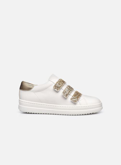 Sneakers Geox D PONTOISE C Bianco immagine posteriore