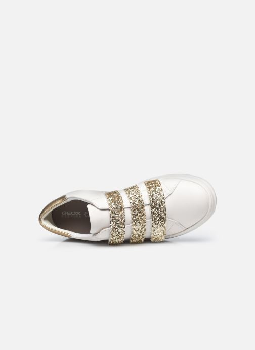 Sneakers Geox D PONTOISE C Bianco immagine sinistra
