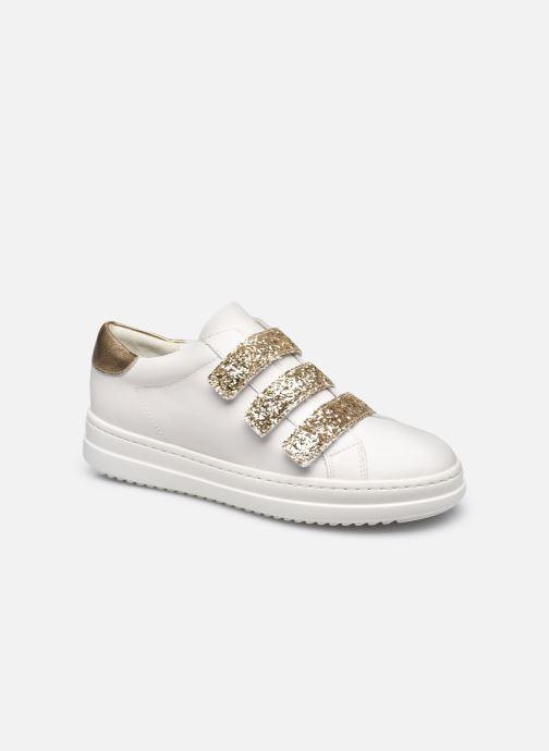 Sneakers Geox D PONTOISE C Wit detail