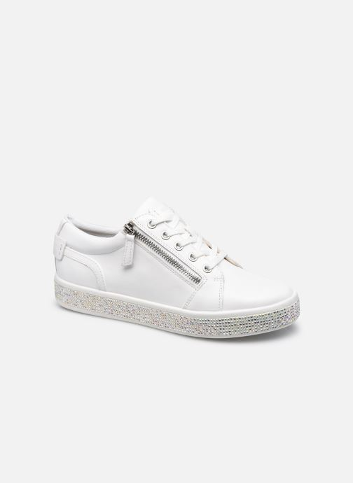 Sneakers Geox D LEELU' D D04FFD Wit detail