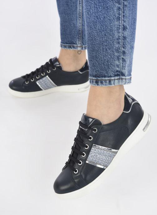Sneaker Geox D JAYSEN C D151BC blau ansicht von unten / tasche getragen