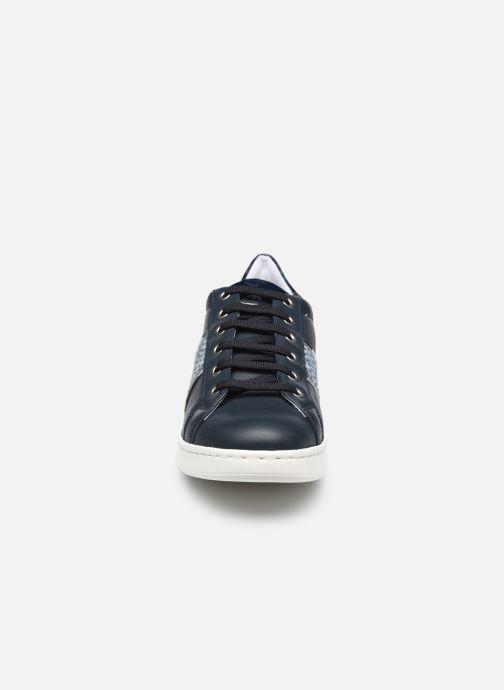 Sneaker Geox D JAYSEN C D151BC blau schuhe getragen