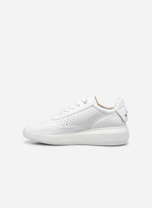 Sneaker Geox D RUBIDIA C D15APC weiß ansicht von vorne