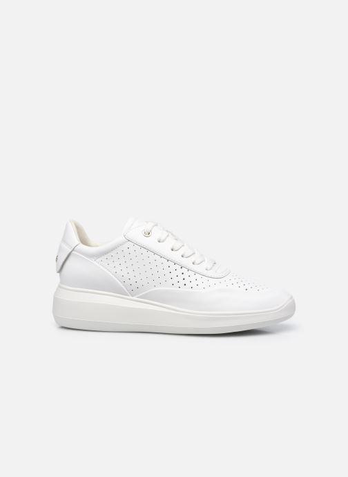 Sneaker Geox D RUBIDIA C D15APC weiß ansicht von hinten