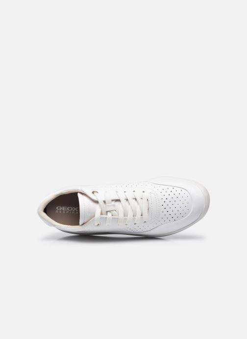 Sneaker Geox D RUBIDIA C D15APC weiß ansicht von links