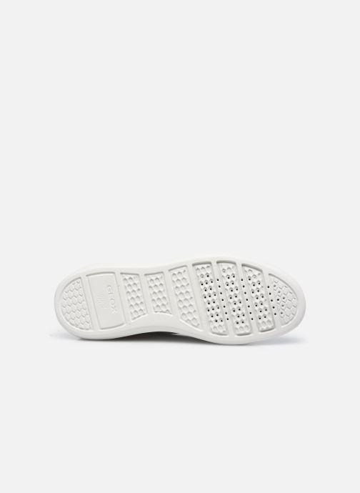 Sneaker Geox D RUBIDIA C D15APC weiß ansicht von oben