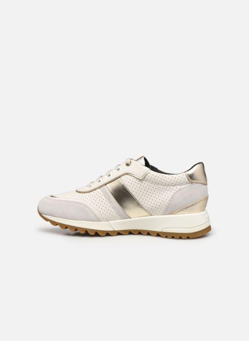 Sneakers Geox D TABELYA A D02AQA Bianco immagine frontale