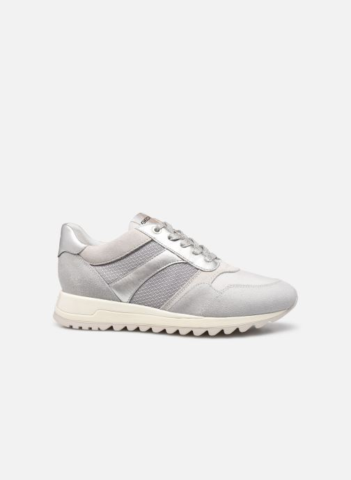 Sneaker Geox D TABELYA A D15AQA grau ansicht von hinten