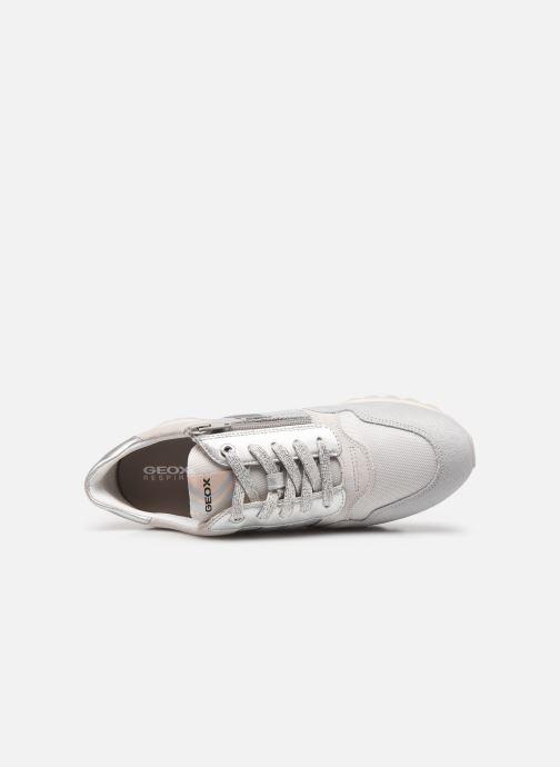 Sneaker Geox D TABELYA A D15AQA grau ansicht von links