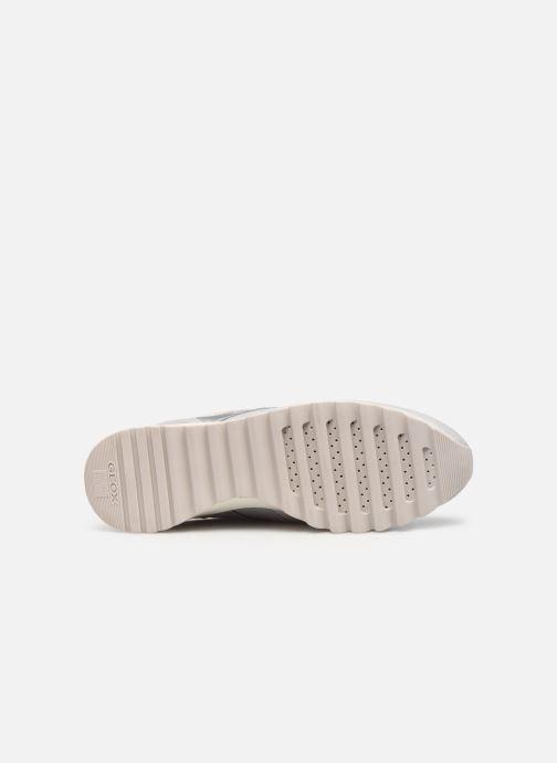 Sneaker Geox D TABELYA A D15AQA grau ansicht von oben