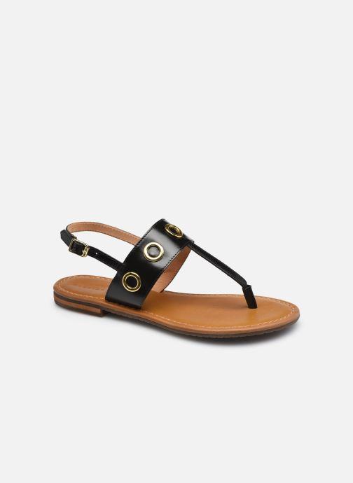 Sandalen Geox D SOZY S E schwarz detaillierte ansicht/modell
