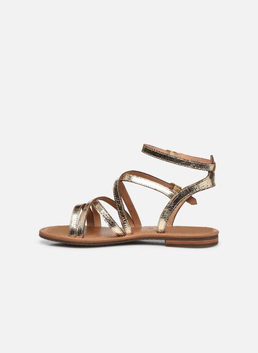 Sandales et nu-pieds Geox D SOZY S G Or et bronze vue face