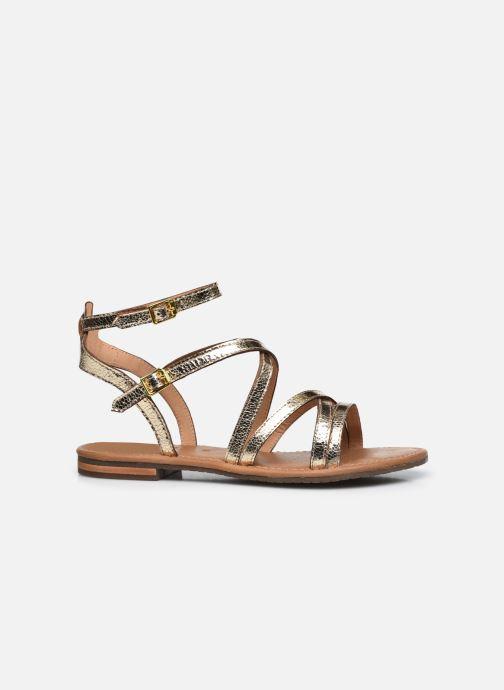 Sandales et nu-pieds Geox D SOZY S G Or et bronze vue derrière