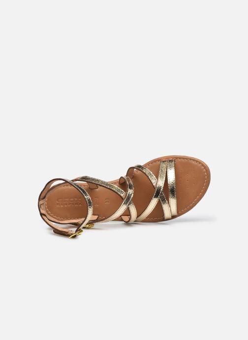 Sandales et nu-pieds Geox D SOZY S G Or et bronze vue gauche