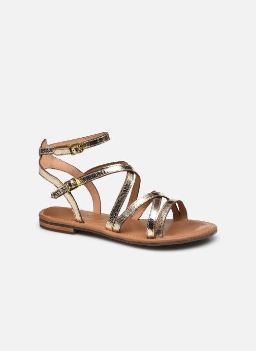 Sandales et nu-pieds Geox D SOZY S G Or et bronze vue détail/paire