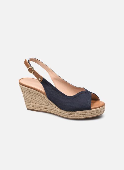 Sandales et nu-pieds Geox D SOLEIL D15N7A Bleu vue détail/paire
