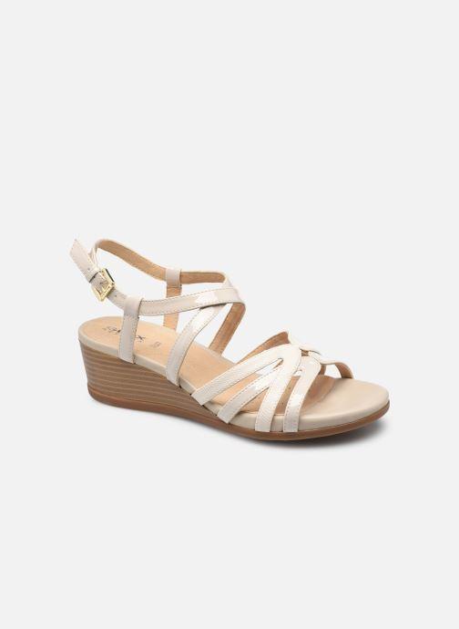 Sandales et nu-pieds Geox D MARYKARMEN B Beige vue détail/paire