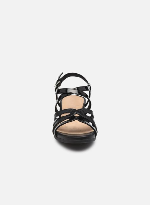 Sandales et nu-pieds Geox D MARYKARMEN B Noir vue portées chaussures