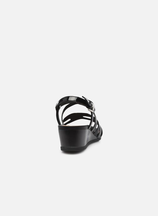 Sandales et nu-pieds Geox D MARYKARMEN B Noir vue droite