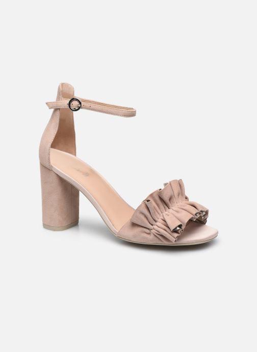 Sandalen Geox D ERAKLIA HIGH E rosa detaillierte ansicht/modell