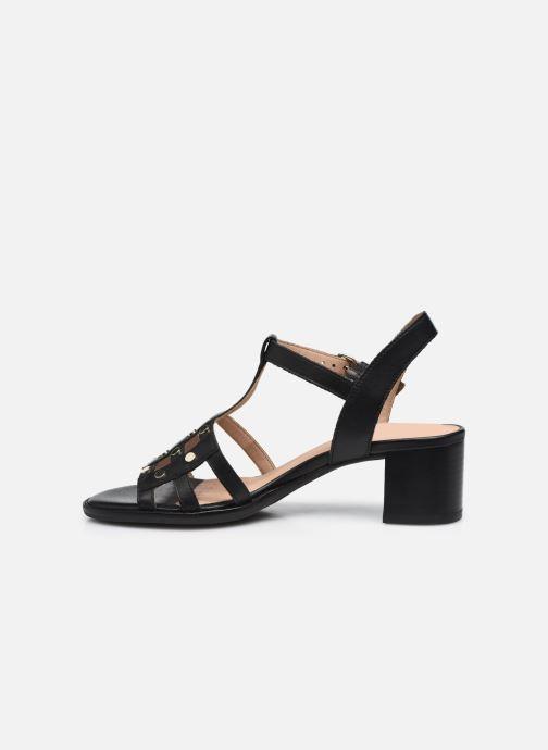 Sandali e scarpe aperte Geox D SOZY MID B Nero immagine frontale