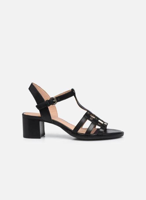 Sandali e scarpe aperte Geox D SOZY MID B Nero immagine posteriore