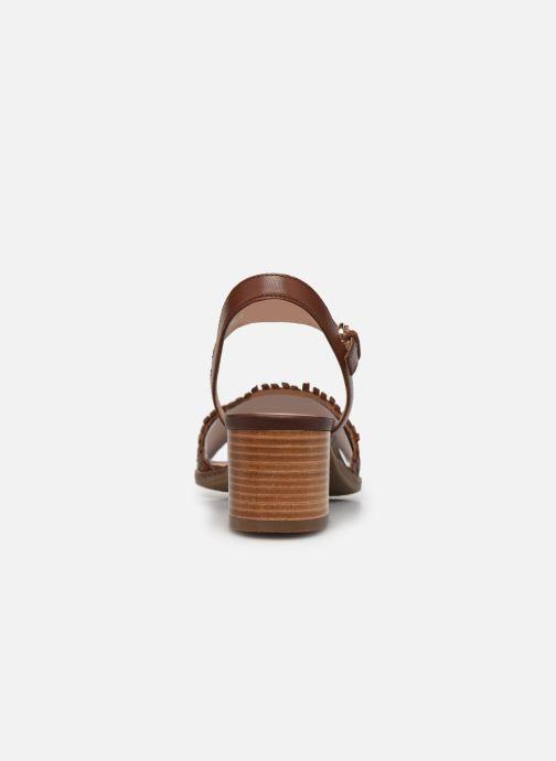 Sandali e scarpe aperte Geox D SOZY MID A Marrone immagine destra
