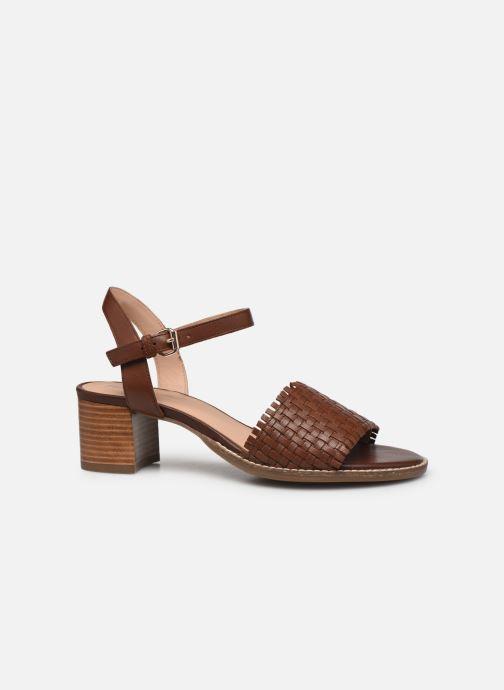 Sandali e scarpe aperte Geox D SOZY MID A Marrone immagine posteriore