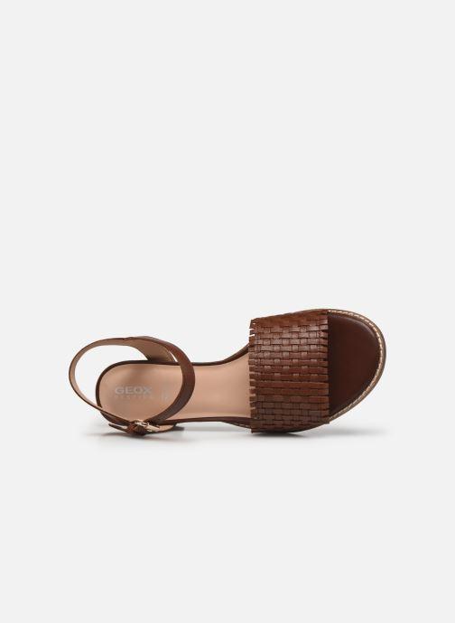 Sandali e scarpe aperte Geox D SOZY MID A Marrone immagine sinistra