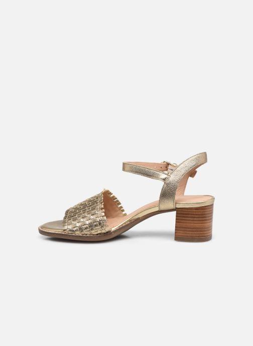 Sandali e scarpe aperte Geox D SOZY MID A Oro e bronzo immagine frontale