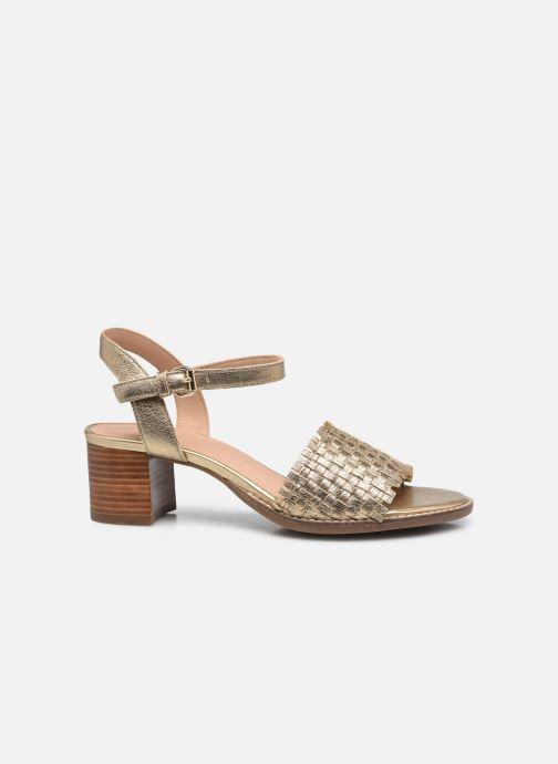 Sandali e scarpe aperte Geox D SOZY MID A Oro e bronzo immagine posteriore