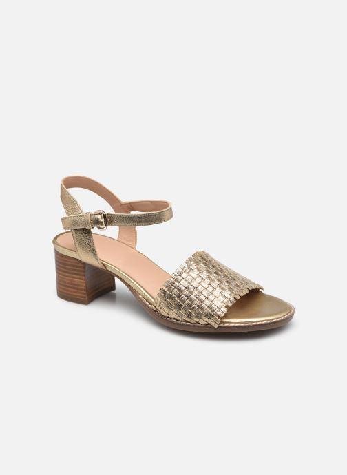Sandali e scarpe aperte Geox D SOZY MID A Oro e bronzo vedi dettaglio/paio