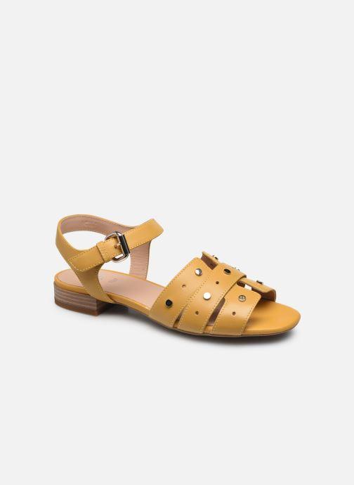 Sandali e scarpe aperte Geox D WISTREY SANDALO C Giallo vedi dettaglio/paio