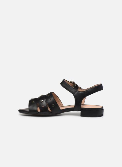 Sandali e scarpe aperte Geox D WISTREY SANDALO C Nero immagine frontale