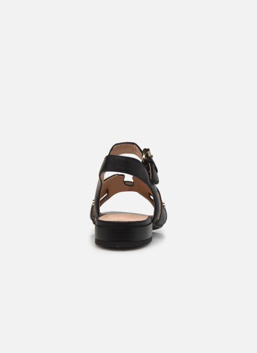 Sandali e scarpe aperte Geox D WISTREY SANDALO C Nero immagine destra