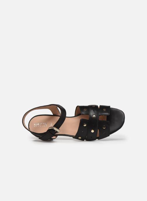 Sandali e scarpe aperte Geox D WISTREY SANDALO C Nero immagine sinistra