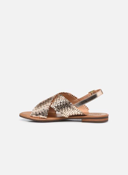 Sandalen Geox D SOZY S A gold/bronze ansicht von vorne