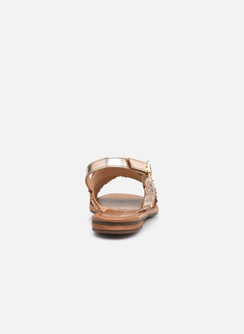 Sandalen Geox D SOZY S A gold/bronze ansicht von rechts