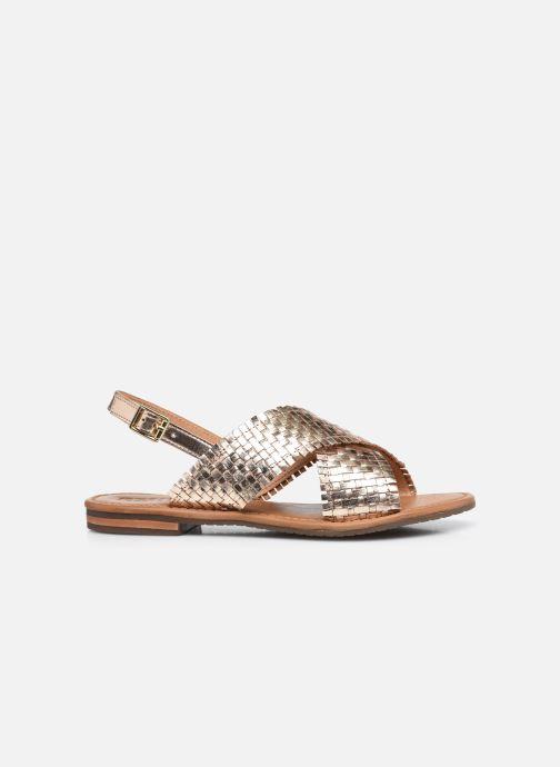 Sandalen Geox D SOZY S A gold/bronze ansicht von hinten