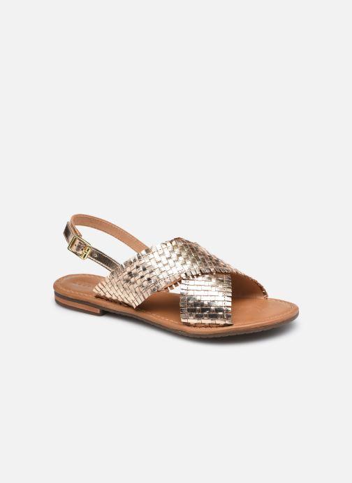Sandales et nu-pieds Geox D SOZY S A Or et bronze vue détail/paire