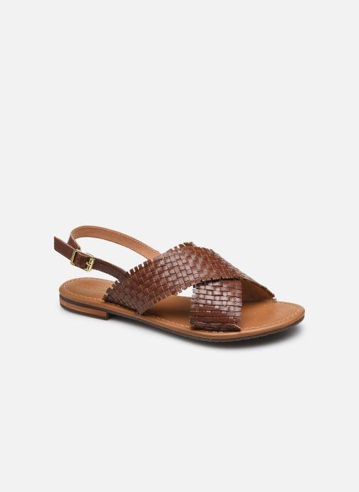 Sandali e scarpe aperte Geox D SOZY S A Marrone vedi dettaglio/paio