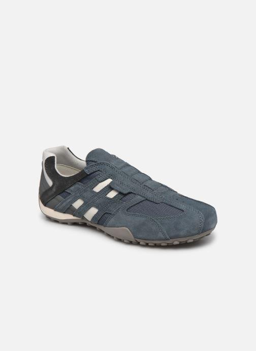 Sneaker Geox UOMO SNAKE L blau detaillierte ansicht/modell